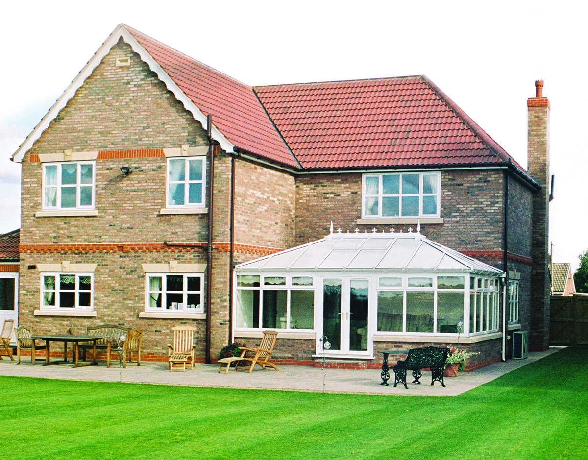 White uPVC Conservatories - Grosvenor Windows - Horwich - Bolton