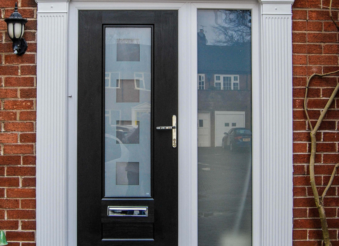 Black Rock Door - Grosvenor Windows - Horwich - Bolton