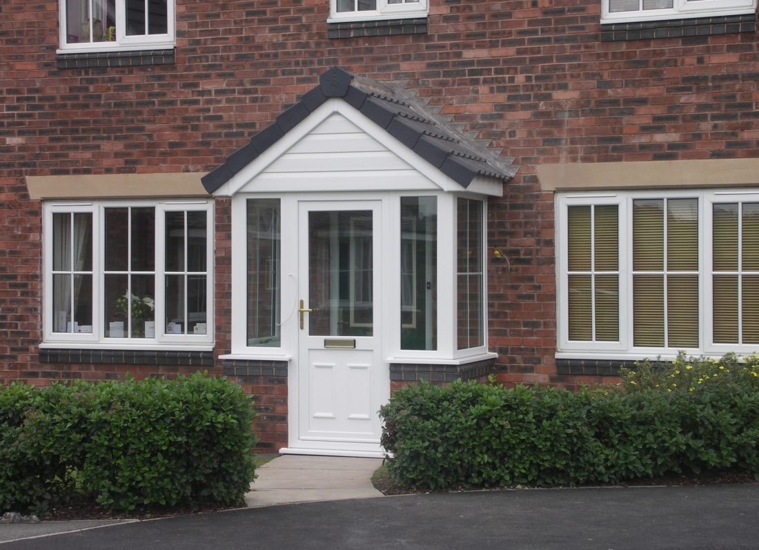 Tiled Porch - Grosvenor Windows - Horwich - Bolton