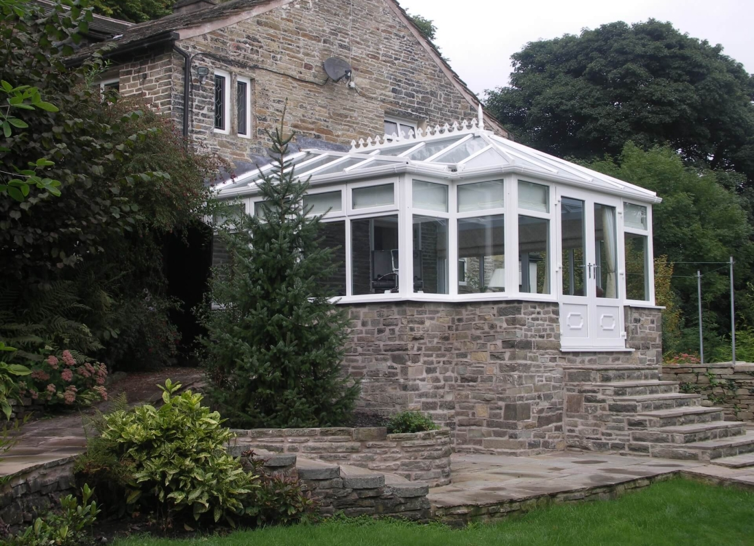 White Conservatory - Grosvenor Windows - Horwich - Bolton