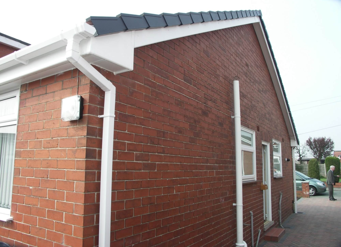 White Roofline - Grosvenor Windows - Horwich - Bolton