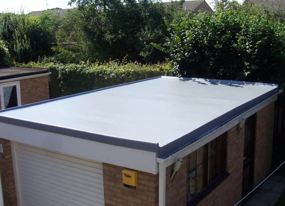 Fibreglass Flat Roof - Grosvenor Windows - Horwich - Bolton