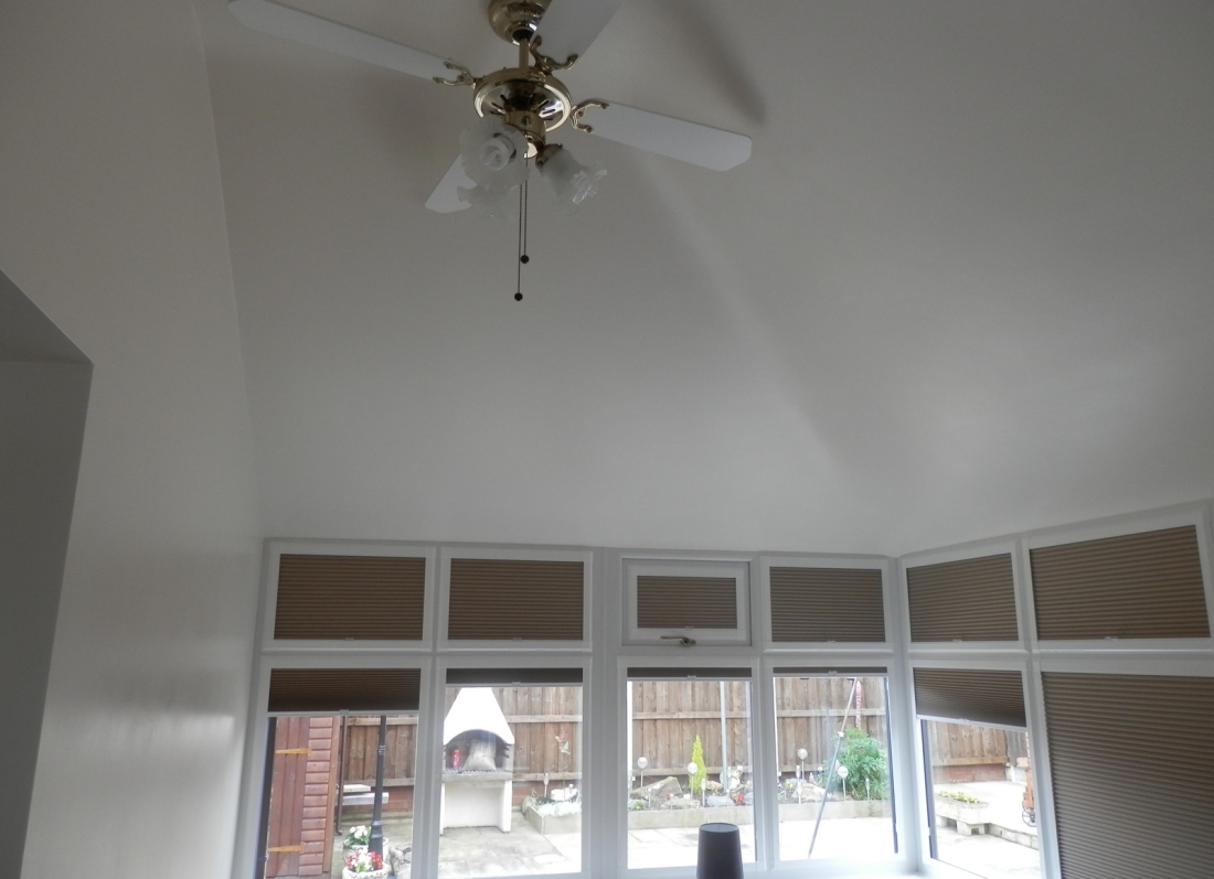 Tiled Roof Conservatory Interior - Grosvenor Windows - Horwich - Bolton