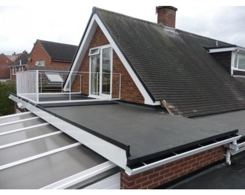 Firestone Rubber Roofing - Grosvenor Windows - Horwich - Bolton