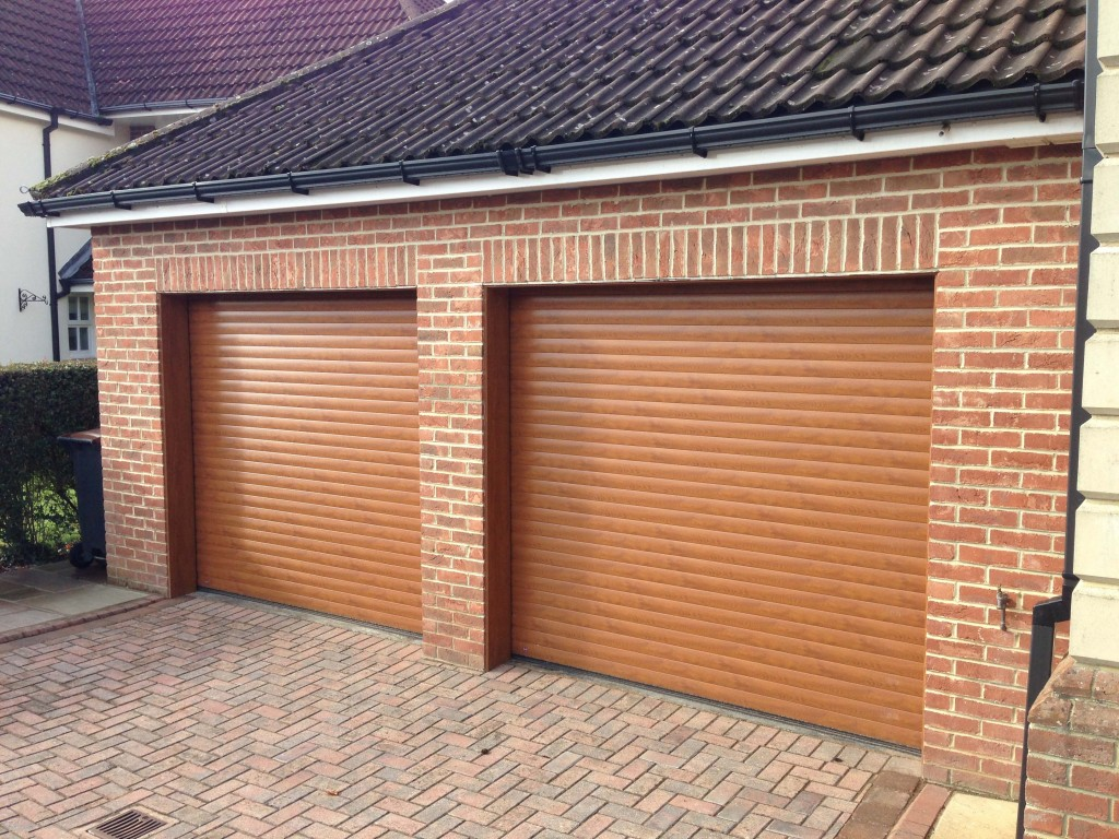 Hormann Oak Garage Door - Grosvenor Windows - Horwich - Bolton